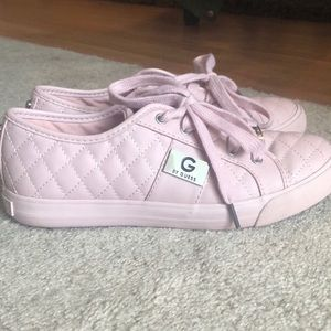 pink Guess shoes
